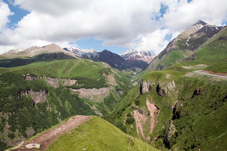 Sakartvelo kalnai