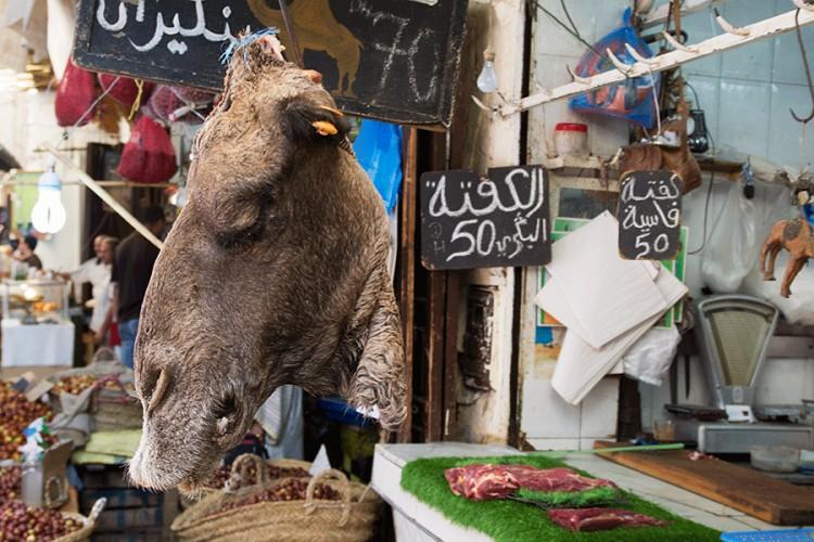 Mėsos turgus Maroke