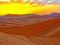 Sacharos dykuma Maroke, saulėtekis