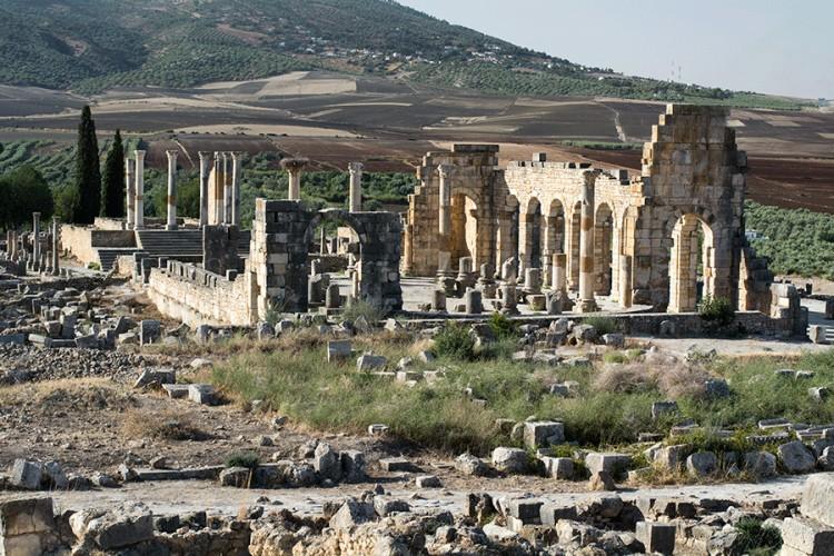Volubilis yra Maroko istorinis miestas