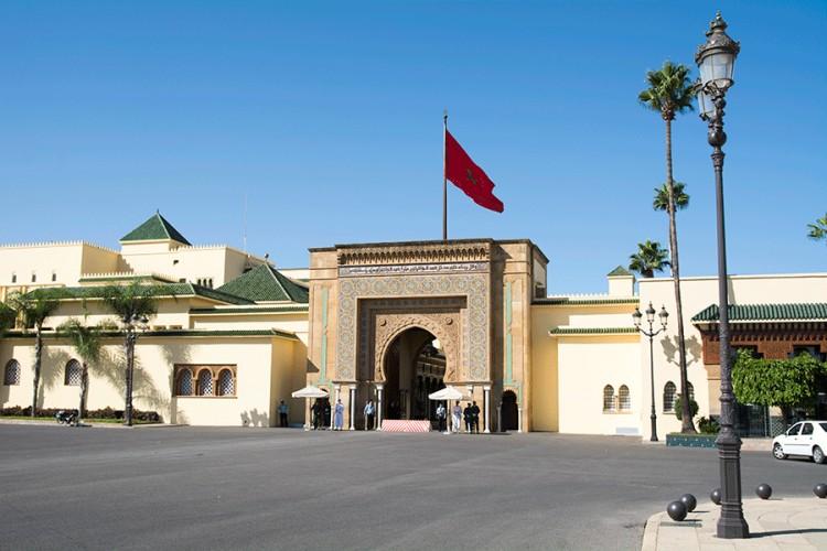 Rabatas. Karaliaus rūmai