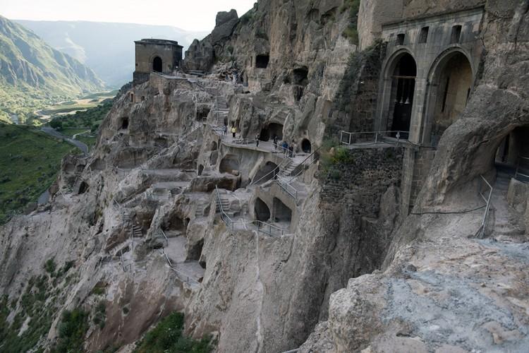 Vardzijos vienuolynas Sakartveloje
