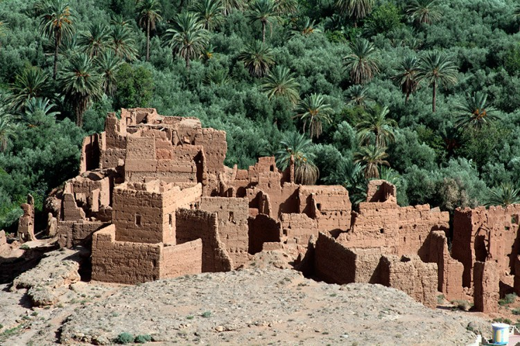 Maroko pilies griuvėsiai