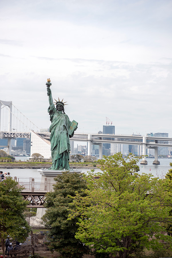 Laisvės statula Tokijuje