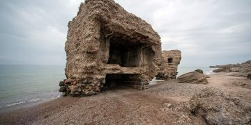 Karosta įtvirtinimo griuvėsiai