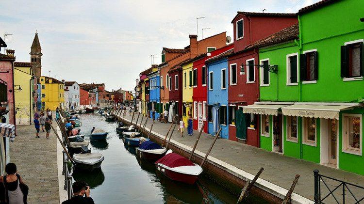 Kelionė į Veneciją. Burano ir Murano salos