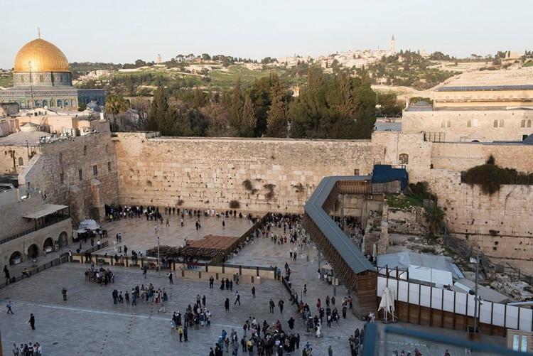 Raudų siena, dar vadinama Vakarinė siena