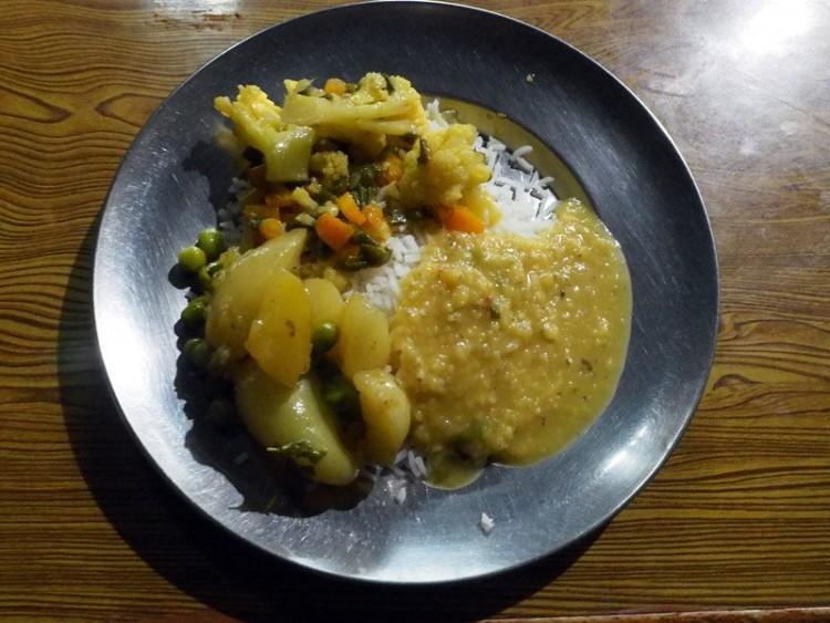 Maistas Himalajų kalnuose