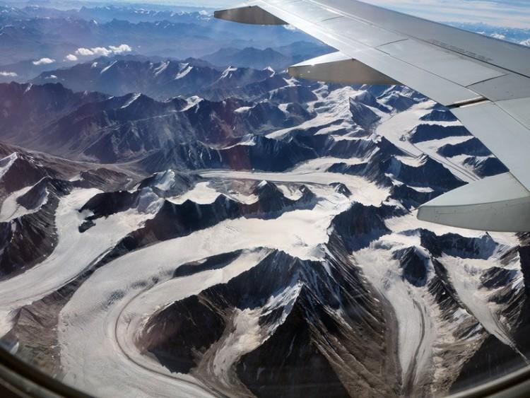 Skrydis per Himalajus į Ladaką