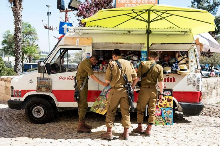 Žydų kareiviai Jeruzalėje