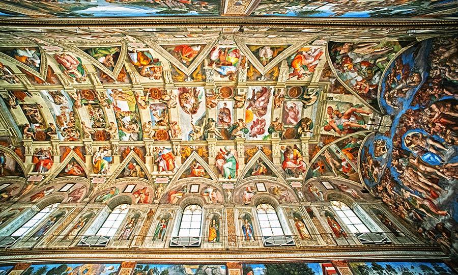 Siksto koplyčios lubos (Cappella Sistina)