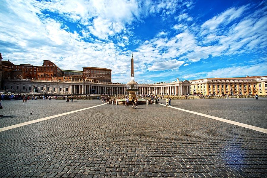 Vatikanas. Švento Petro aikštė