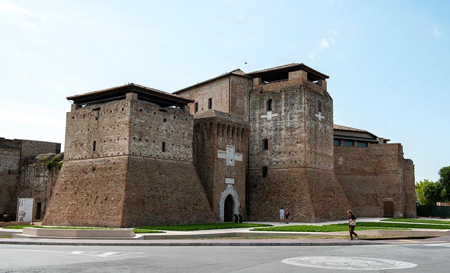 Rimini pilis Castel Sismondo.
