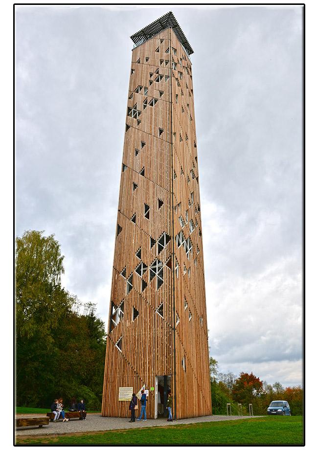 Birštono apžvalgos bokštas.