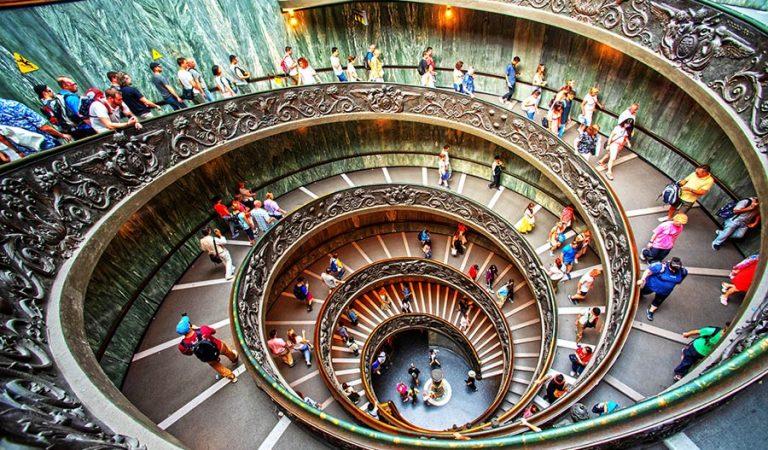 Vatikano muziejaus laiptai