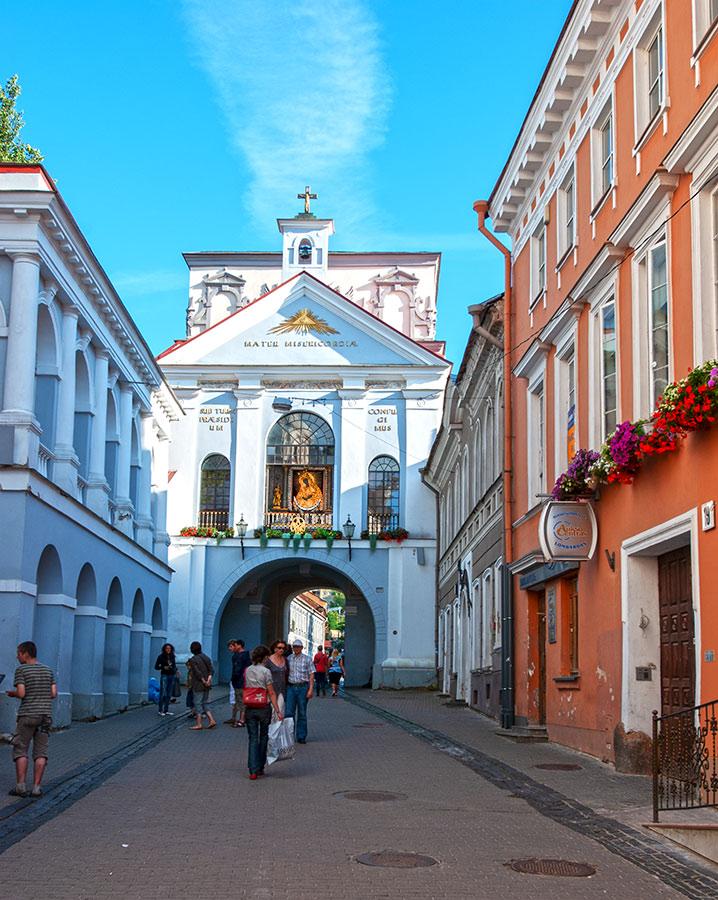 Aušros Vartai Vilniuje.