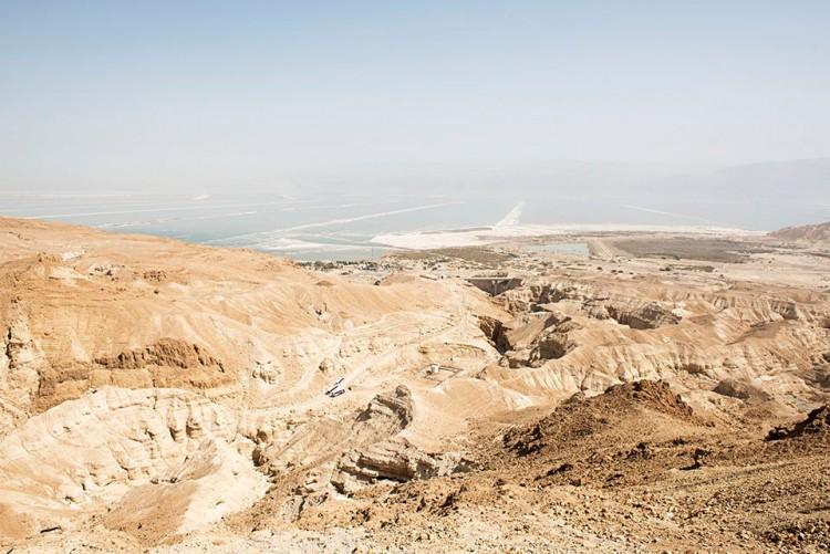 Vaizdas nuo Masada kalno