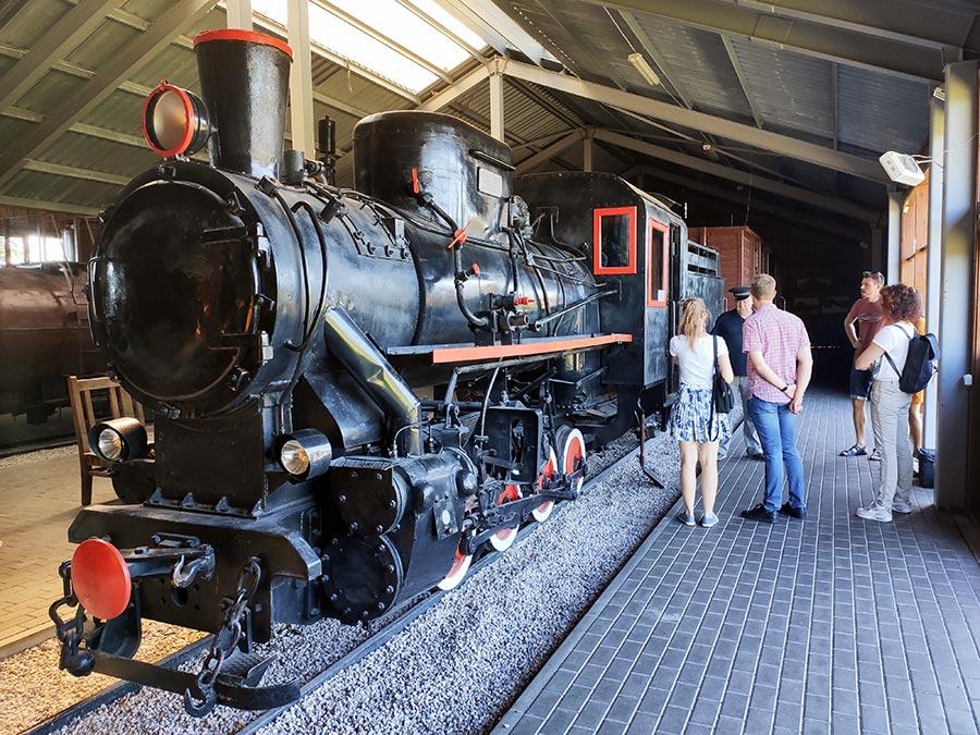 Aukštaitijos siaurasis geležinkelis. Muziejus.