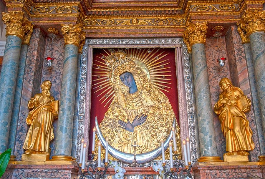 Švenčiausiosios Mergelės Marijos paveikslas