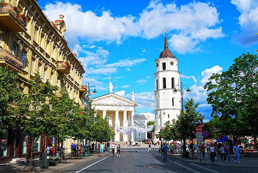 Gedimino prospektas, Vilnius