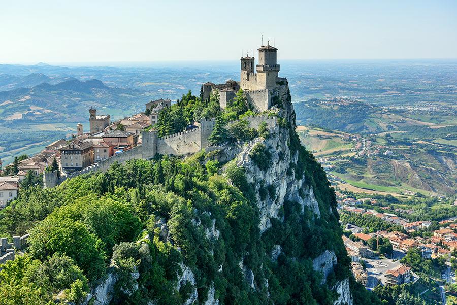 San Marinas. San Marino