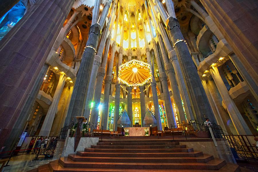 Šv. Šeimynos bažnyčia Barselonoje. Sagrada Familia