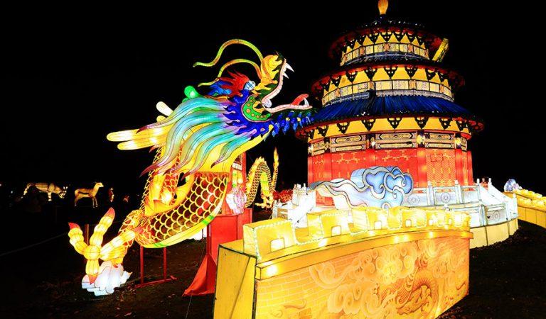 Didieji Kinijos žibintai Pakruojo dvare